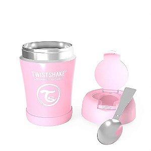 Pote Térmico TwistShake Rosa Pastel (350ml)