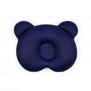 Almofada Ergonômica para cabeça Urso Azul