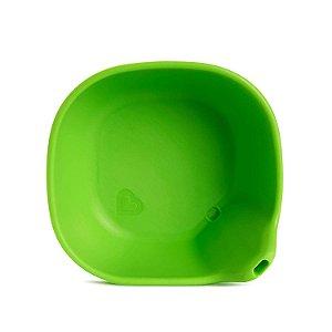 Tigela de silicone Munchkin Verde Last Drop