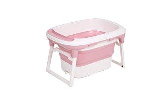 Banheira Média Rosa Baby Pil