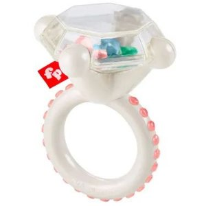 Chocalho Anel de Diamante Fisher Price