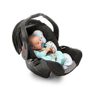 Almofada para bebê conforto Cinza