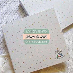 Álbum do bebê Bolinhas