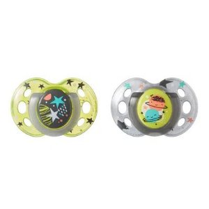 Kit 2 Chupetas Night Time Tommee Tippe (18 - 36 Meses)