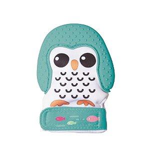 Luva Mordedor Pinguim Verde
