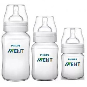 Kit de Mamadeiras Philips Avent - 125ml, 260ml, 330ml