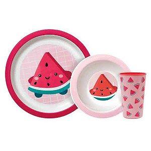 Kit de Alimentação Frutti Melancia Buba