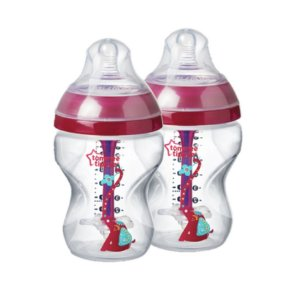 Mamadeira Advanced Anti Colic 260ml Tommee Tippee Rosa
