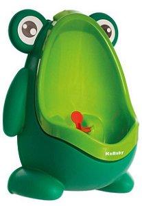 Mictório Infantil Sapinho Stand Up Verde