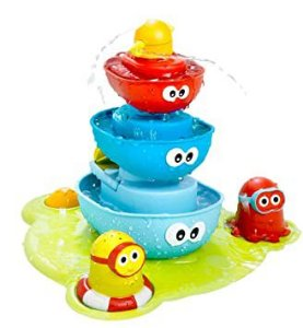 Brinquedo de Banho Stack N Spray Tub Fountain