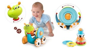 Brinquedo Grawl N Go Snail (Caracol)