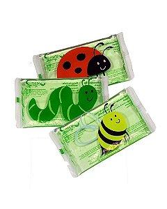 Kit com 3 compressas de gelo Green Sprouts