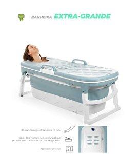 Banheira Extra Grande Azul Baby Pil