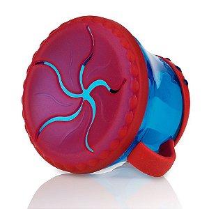 Porta Lanchinho Nuby Azul/ Vermelho