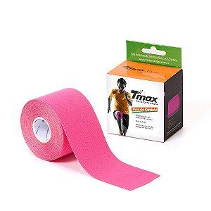 Bandagem elástica adesiva TMAX 5Mx5cm Rosa