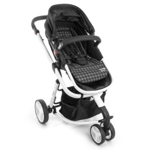 Almofada Safety 1st Plaid Black