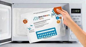 Sacos esterilizadores reutilizaveis para microondas Multikids