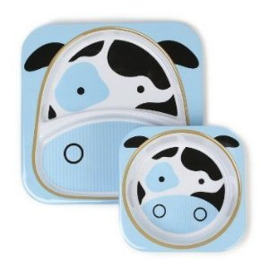 Set de pratos Skip Hop Zoo Vaca