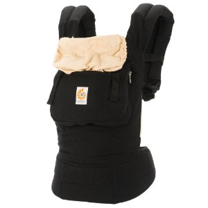 Canguru Baby Carrier Ergobaby - Coleção Original - Black/Camel