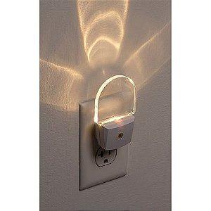 Luz Noturna sensor automático Led Bivolt Safety First - Embalagem com 2 unidades