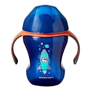 Copo de Treinamento com Bico Macio Sippee 1 Und 80Z/230ML- Azul - TT026