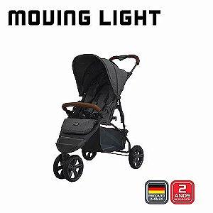 Carrinho Moving Light Woven com Couro