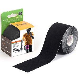Bandagem elástica adesiva TMAX 5Mx5cm Preta