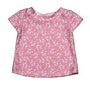 Camiseta Banho Jardim das Flores FPS50 iPlay