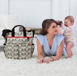 Bolsa Maternidade - (Diaper Bag) - Duo Signature Hearts