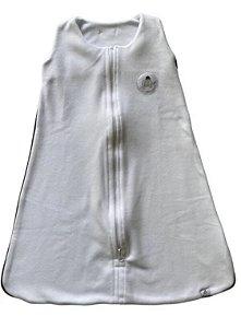 Saco de Dormir Infantil Bebê Soft Branco :