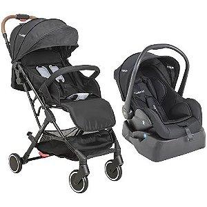 Carrinho Sprint com bebê conforto Casulo e Base