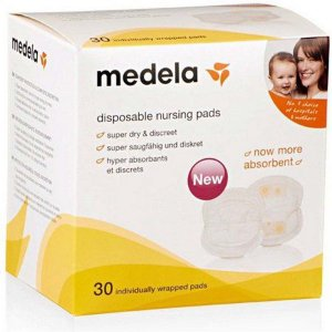 Absorventes de seio descartáveis Medela (30 unidades)