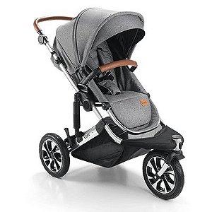 Carrinho de Bebê Litet Jet 0-15Kgs Cinza