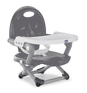 Cadeira de Alimentação Pocket Snack Chicco Dark Grey