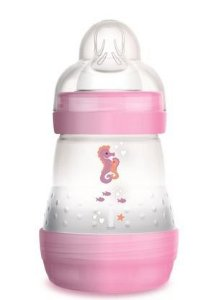 Mamadeira Easy Start MAM - 0m+ 160ml Rosa