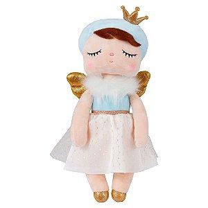 Boneca Angela Angel Azul Metoo 33cm