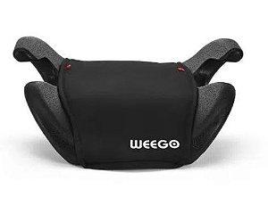 Assento para Auto Booster Eleve Weego (22-36kg) Preto