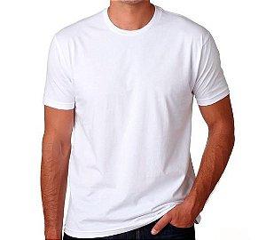 Camiseta Básica Lisa (cor branca)