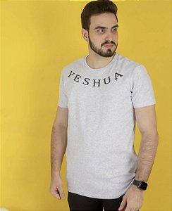 Camisa Yeshua pescoço (cor cinza mescla)