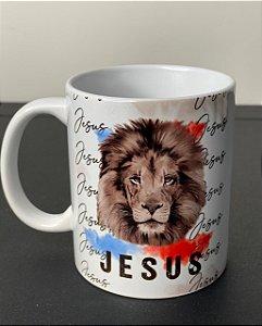Caneca Leão Jesus
