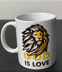 Caneca God is love