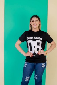 Camisa ROMANOS 08 VINTE E OITO (cor preta)