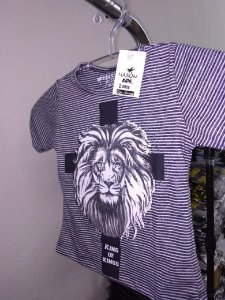 Camisa infantil king of kings listra