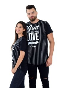 Longline God is love - preta