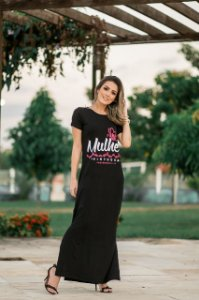 Vestido longo mulher virtuosa