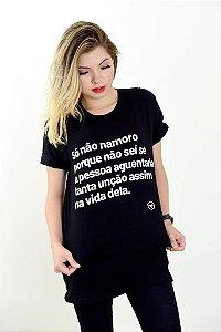 Camisa, Só nao namoro porque não sei se a pessoa...