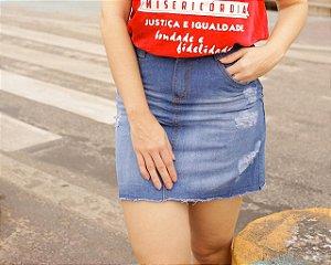Saia jeans - clara