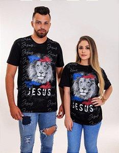 Camisa Jesus Leão (colorida) UNISSEX
