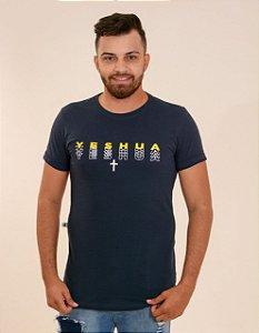 Longline Yeshua degradê(Azul Marinho)