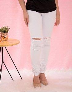 Calça branca feminina